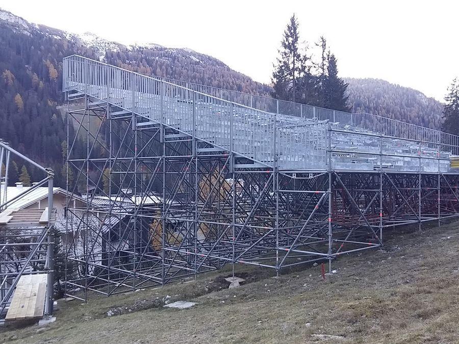 Audi Fis Giant Night Slalom - Madonna di Campiglio Vista laterale