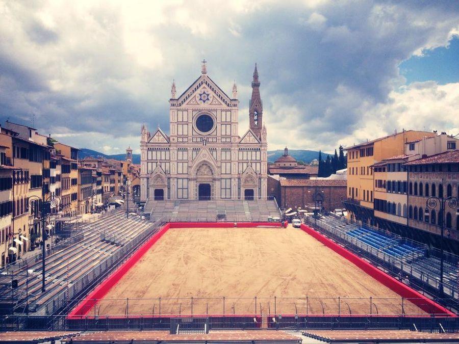 Calcio Storico Fiorentino - Firenze Vista del campo