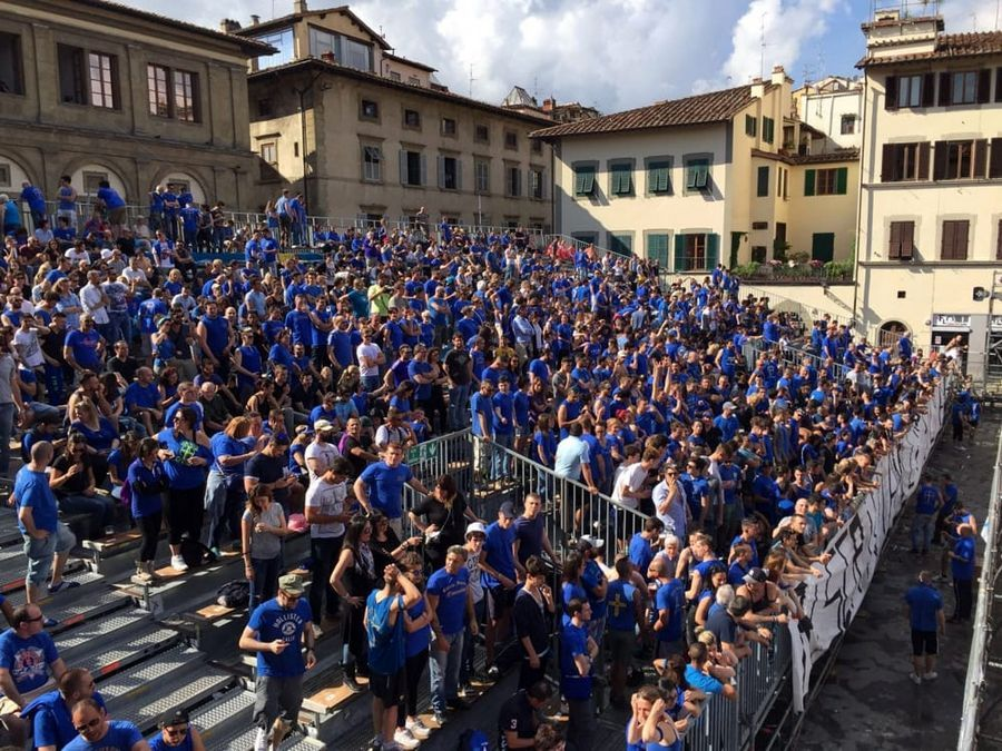 Calcio Storico Fiorentino - Vista tribuna