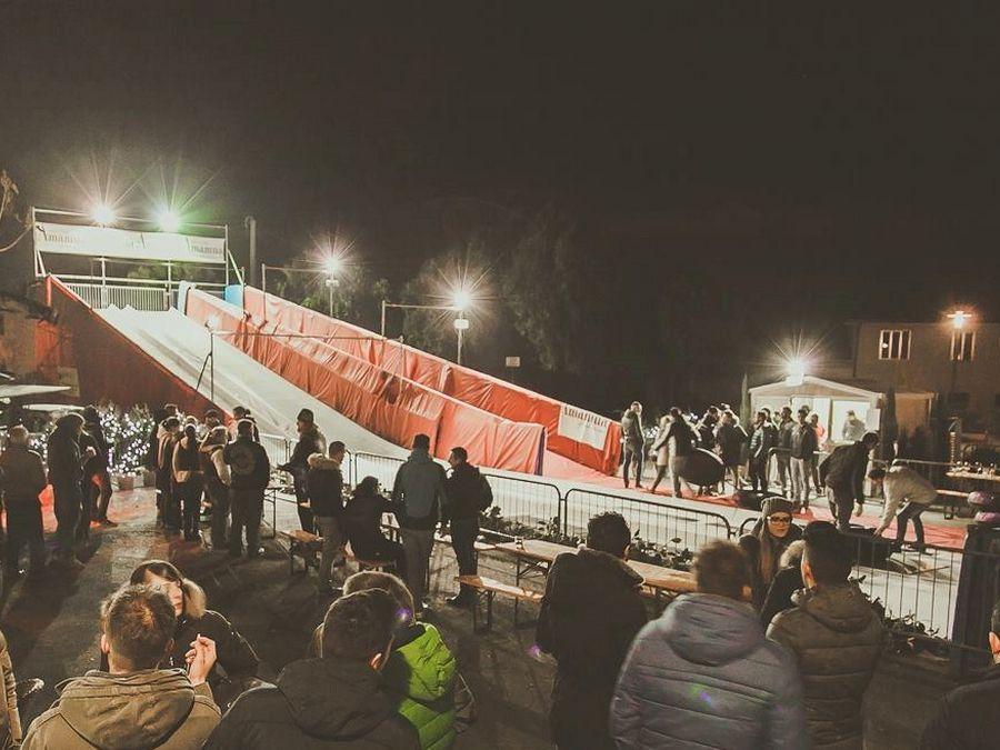 Evento Natalizio - Volpago del Montello Snowtubby a due corsie