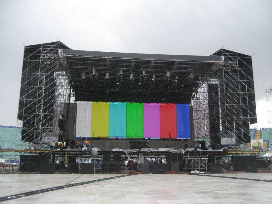 Metallica - Sofia Vista Frontale