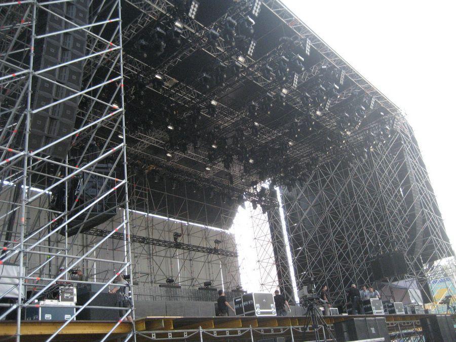 Metallica - Sofia Vista Laterale
