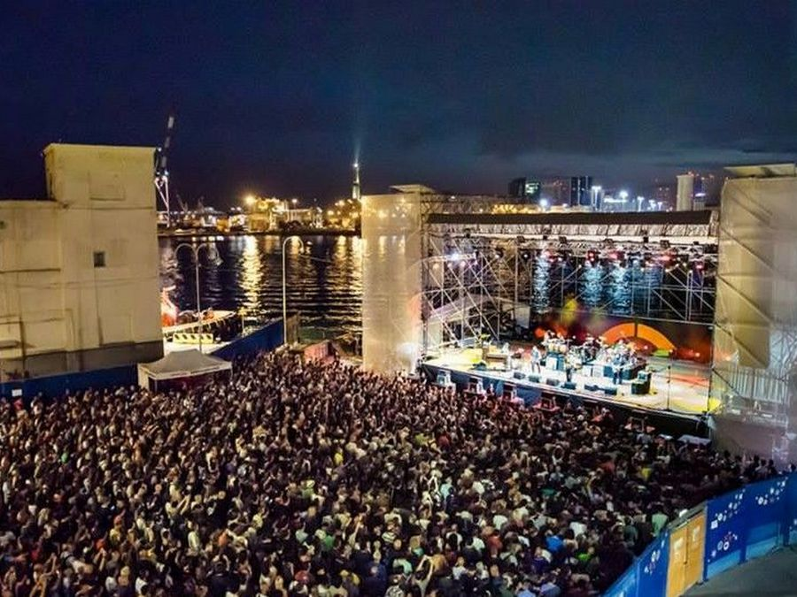 Porto Antico EstatEspettacolo - Genova Vista Platea