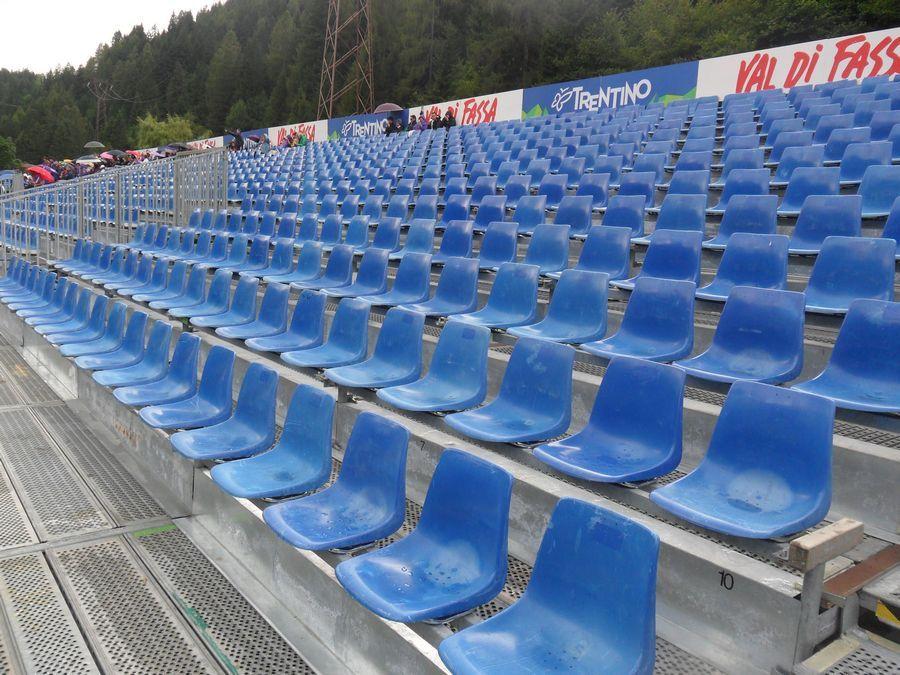 Ritiro della Fiorentina - Moena vista della seduta