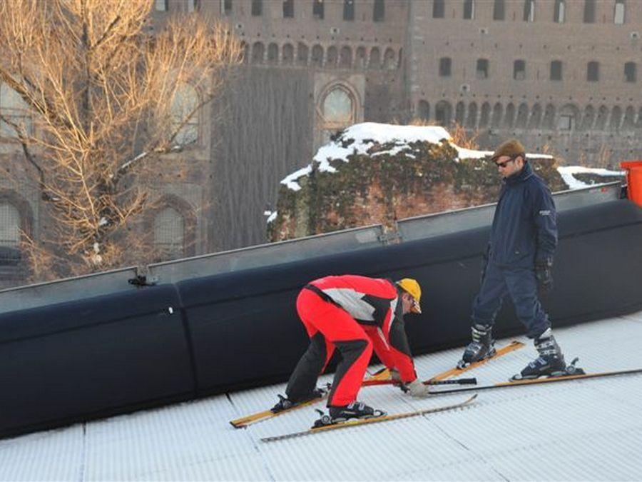Snowpark - Milano - Discesa