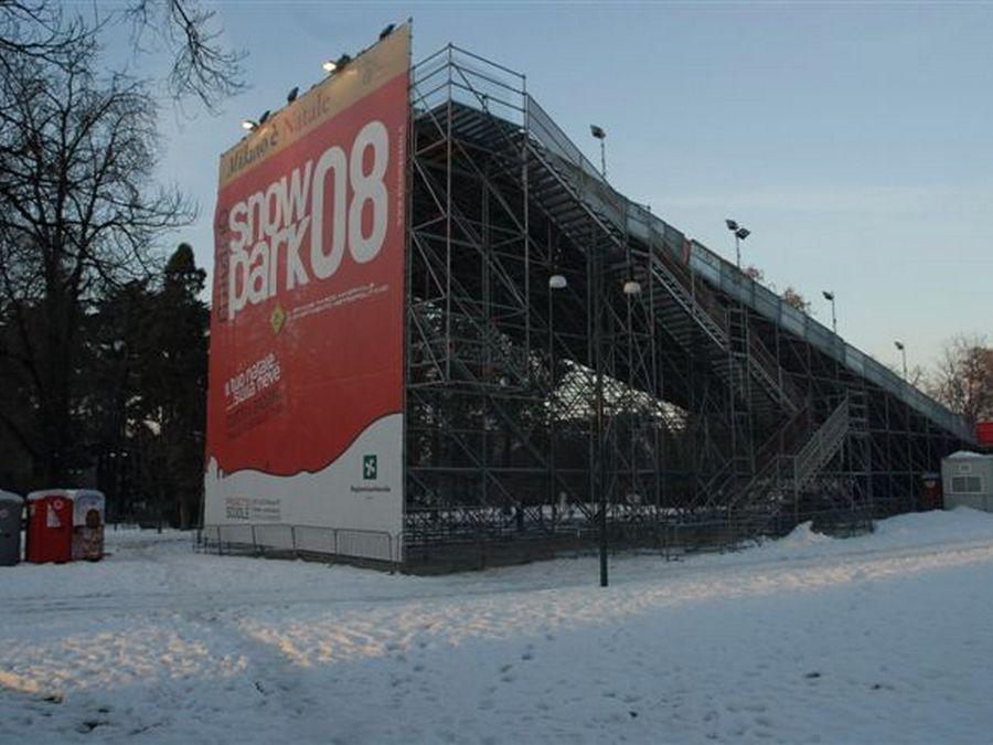 Snowpark - Milano Vista laterale