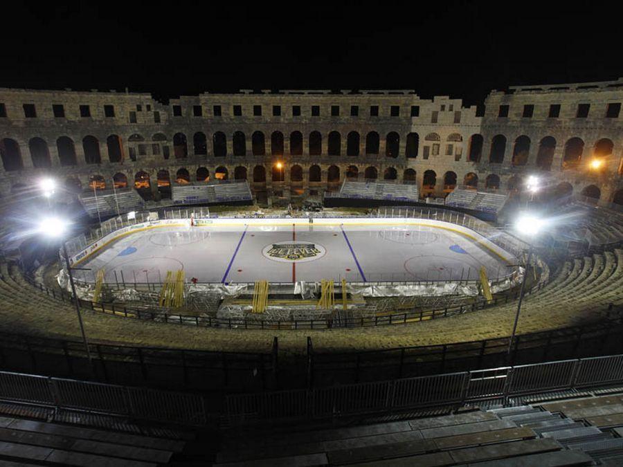 Supporto Pedana del Ghiaccio - Arena Ice Fever Pula