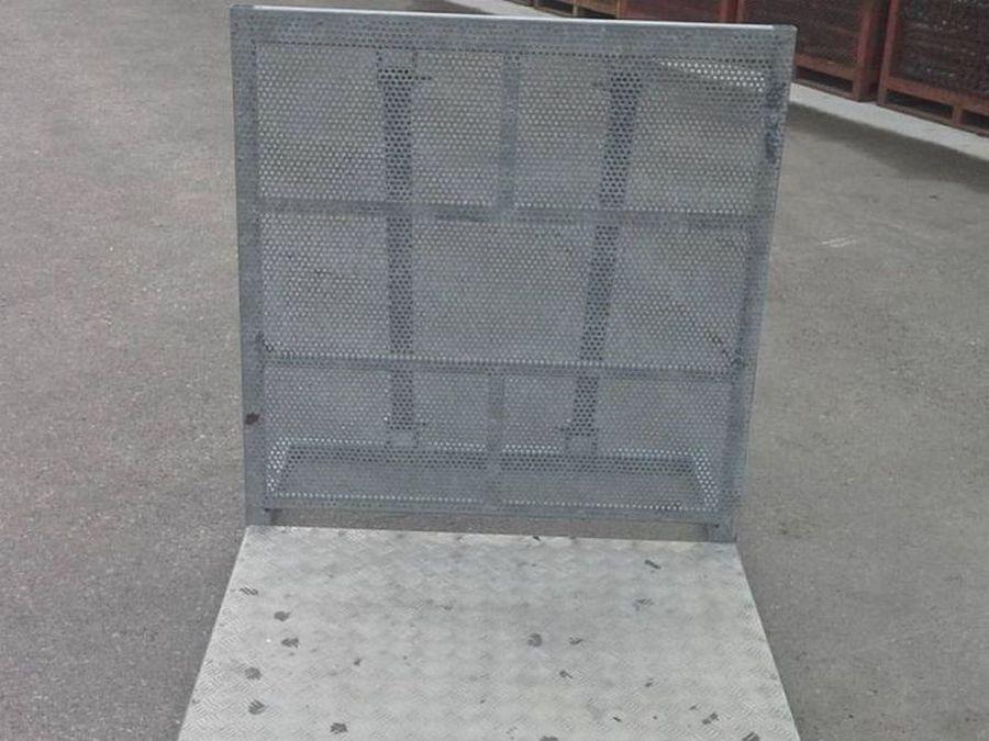 Transenne zincate in ferro 1,00x1,00 m