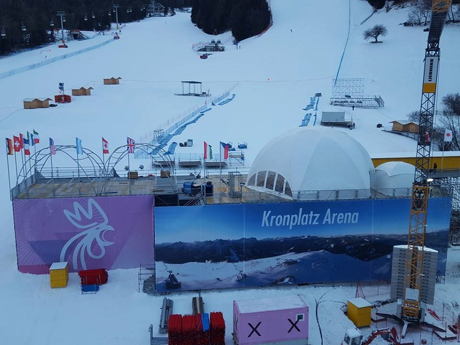 Terrazza VIP Audi Fis Ladies Giant Slalom - Plan de Corones