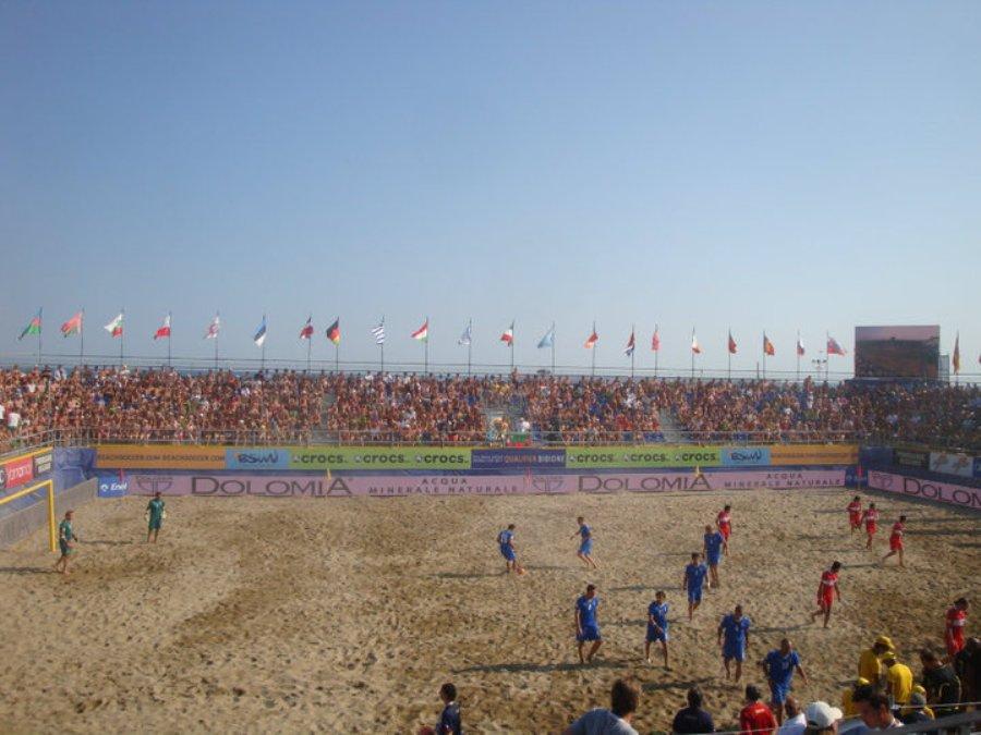 Bibione Beach Soccer - Vista Frontale