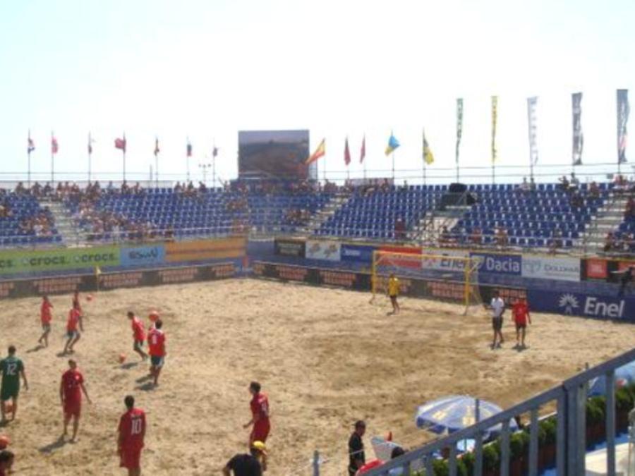 Bibione Beach Soccer - Vista Laterale 2
