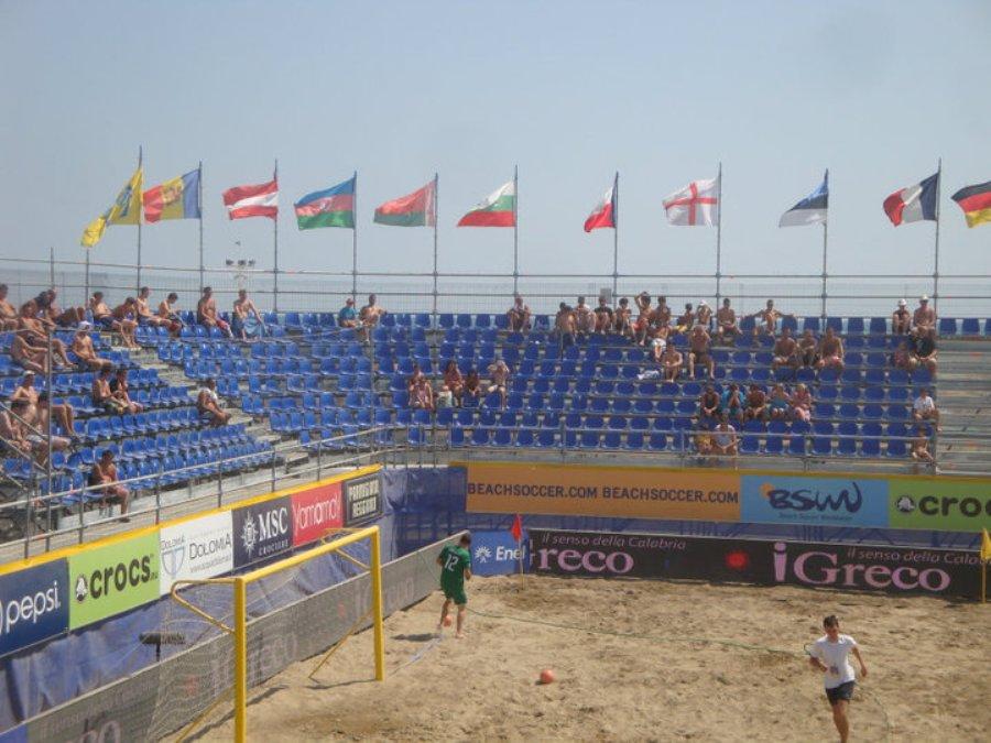 Bibione Beach Soccer - Vista Laterale