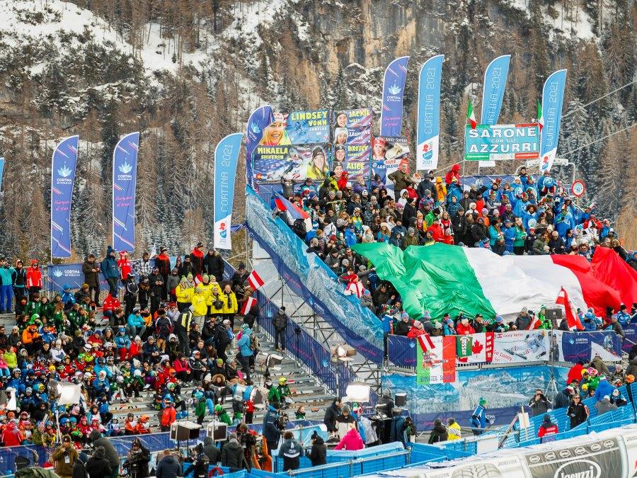 Coppa del Mondo_Cortina_vista Tribune
